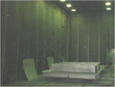 Air Blast Room